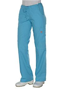 Orange Standard Laguna cargo scrub pants.