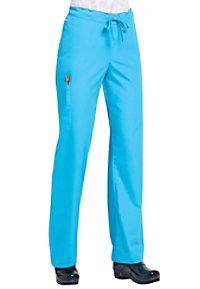 Orange Standard unisex cargo scrub pants.