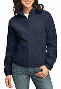 Port Authority Ladies R-Tech fleece full zip jacket.