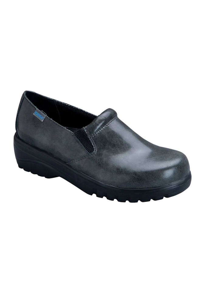 Cherokee Workwear Peacock slip on nursing shoe.