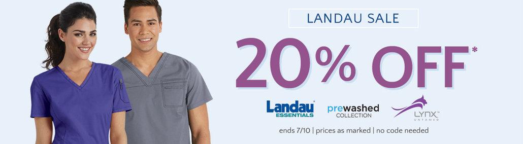Landau scrubs