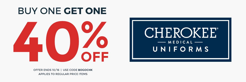 BOGO 40% off Cherokee