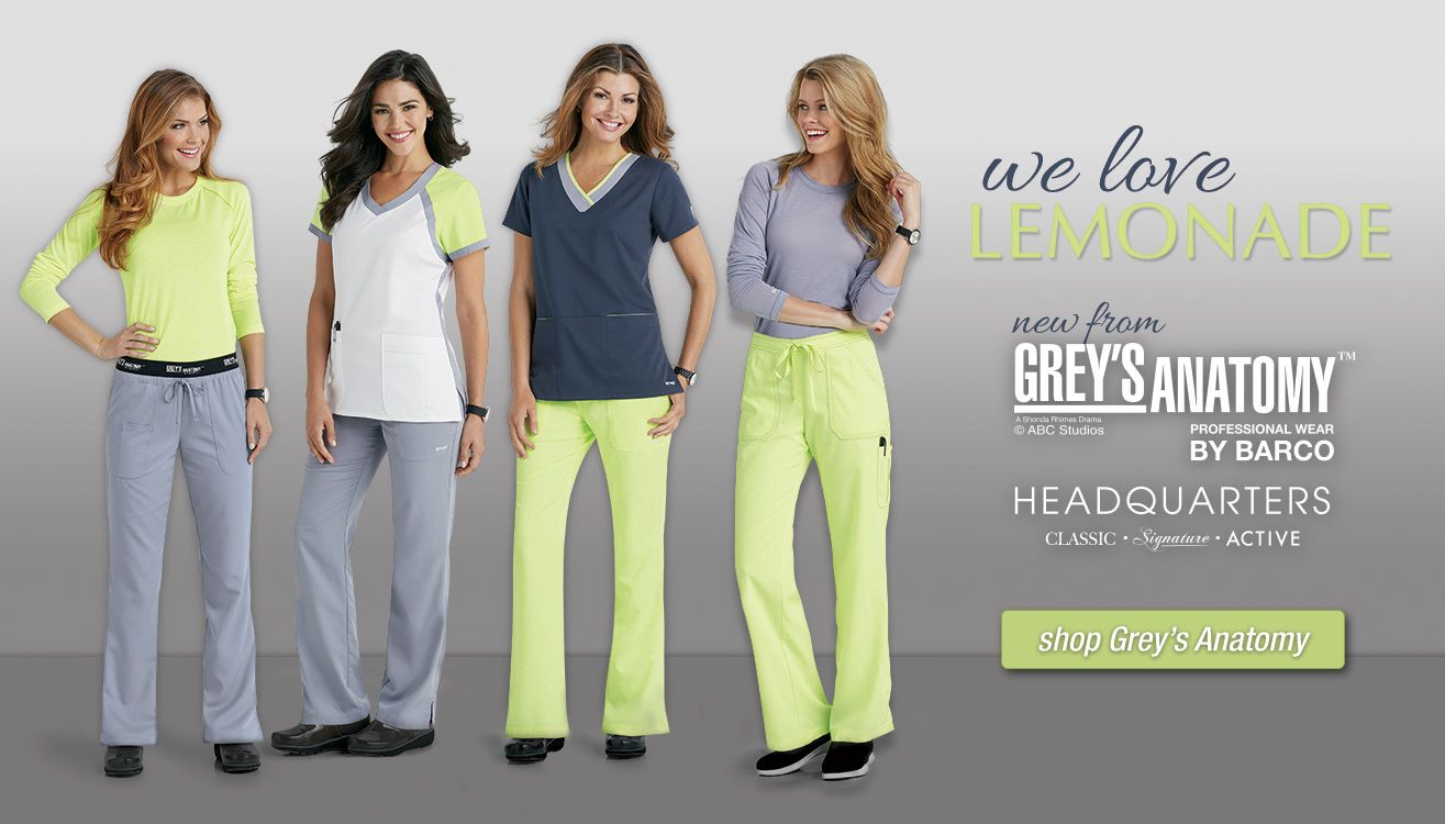 Beyond Scrubs: exclusively ours, inspired by you!
