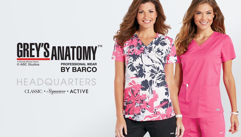 New scrubs from Grey's Anatomy!