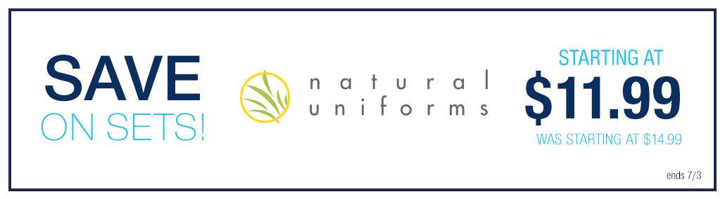 Shop Natural Uniforms Scrubs