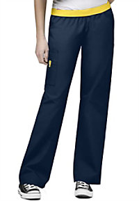 WonderWink Quebec elastic waistband scrub pants.