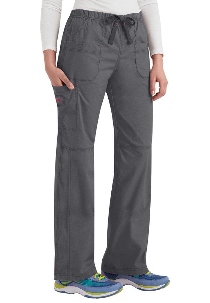 WonderFlex Faith multi-pocket cargo scrub pants.