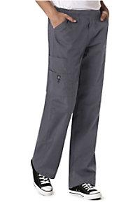 WonderWink mens 6-pocket flat front cargo scrub pants.
