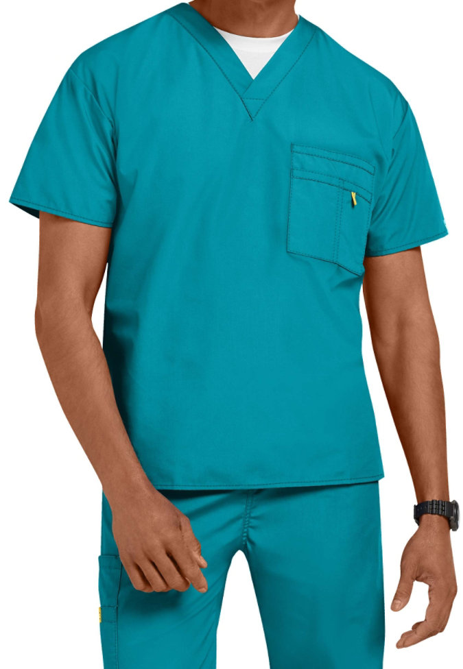 WonderWink Origins Alpha unisex scrub top.