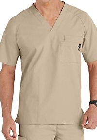 WonderWink mens 5-pocket scrub top.