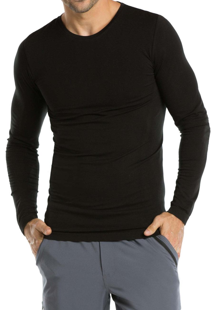Barco One Men's Seamless Long Sleeve Tees