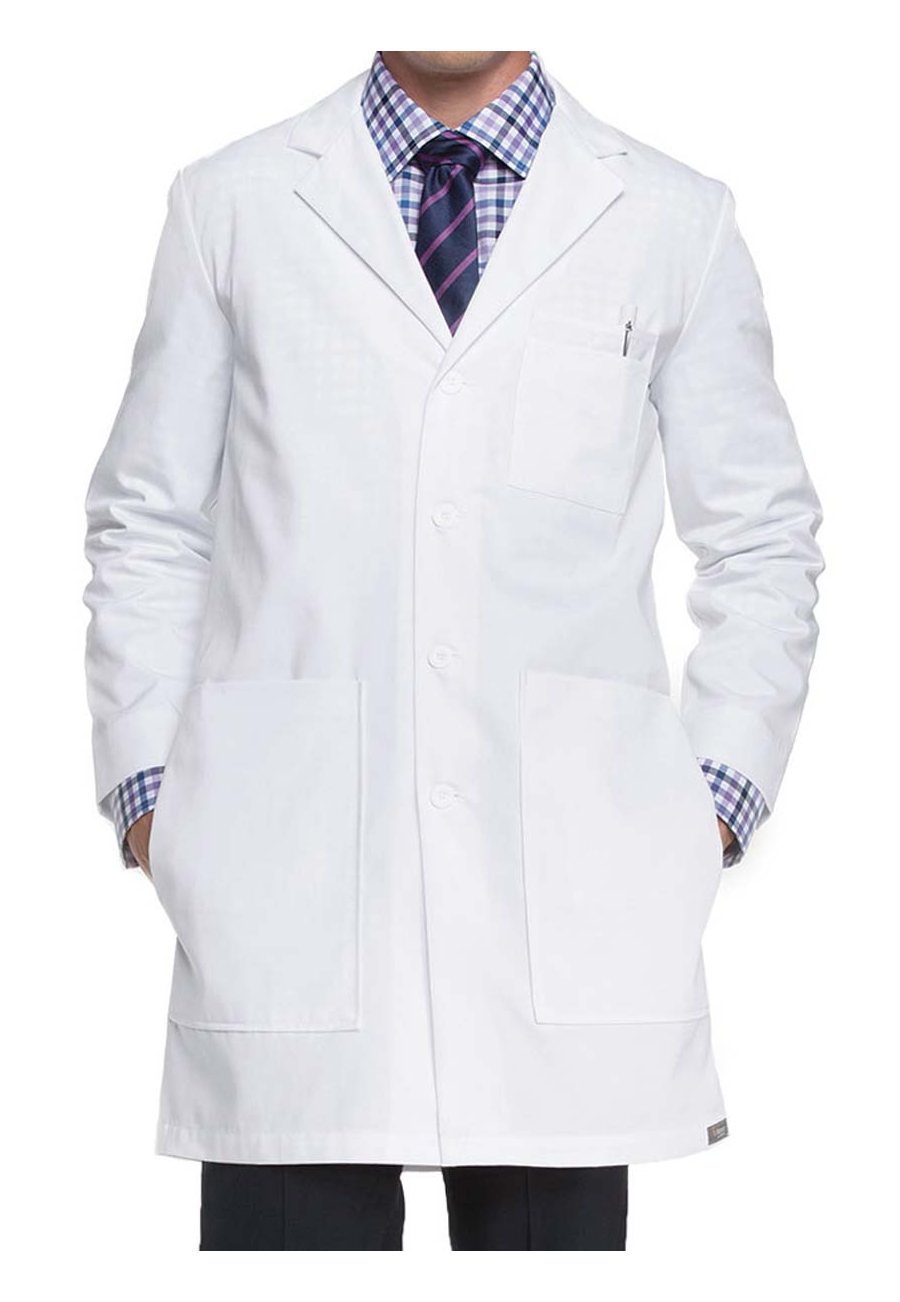 ICU By Barco Men's 37 Inch 6 Pocket Lab Coats