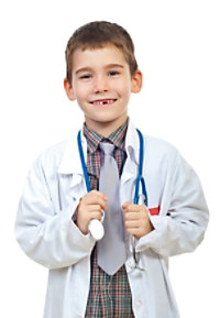 Natural Uniforms Childrens Lab Coats
