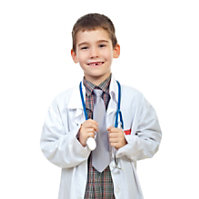 Natural Uniforms Kid's Lab Coats