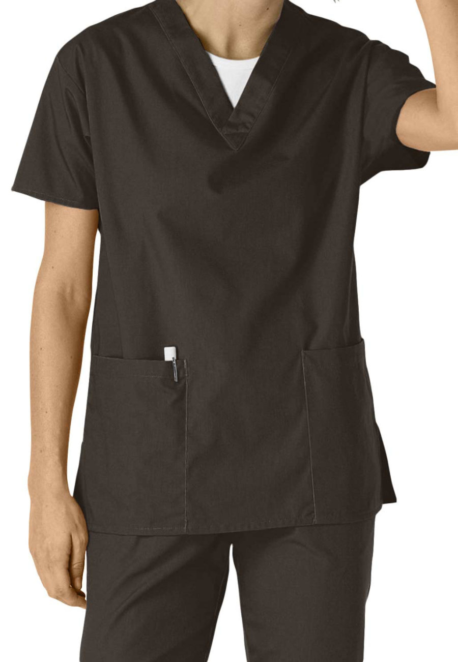 Dickies EDS Medical Uniforms 2-pocket V-neck Scrub Tops