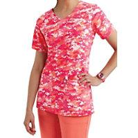 Carhartt Cross-Flex Digi Camo Pink Y-neck Print Tops