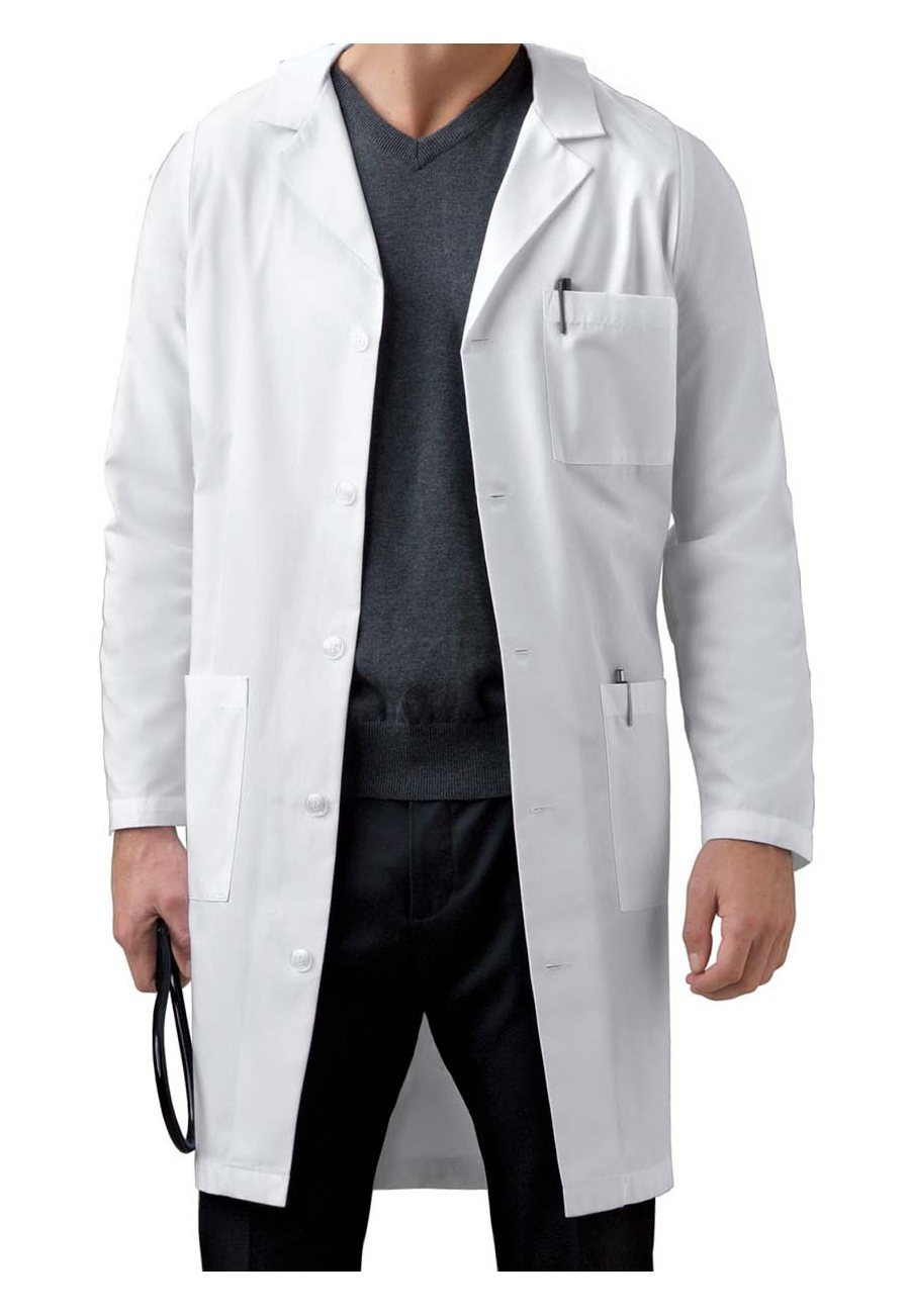 Cherokee Men's 40 Inch Back Belt Lab Coats