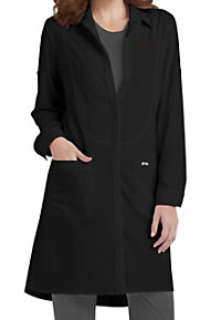 Infinity By Cherokee 40 Inch Button Front Lab Coats With Certainty