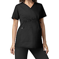 WonderWork Maternity Mock Wrap Tops