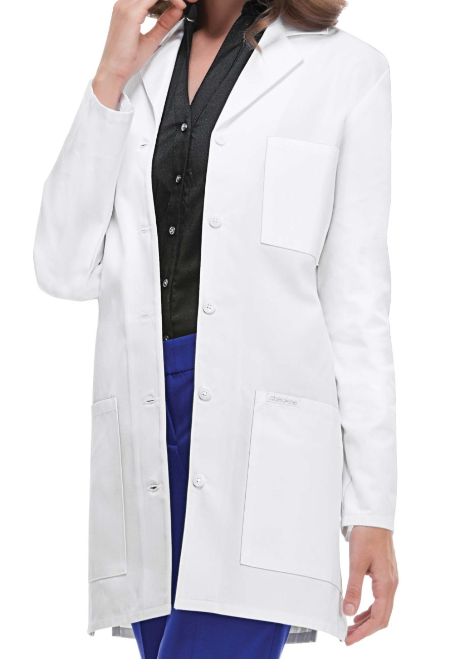 Cherokee 32 Inch 5 Button Lab Coats