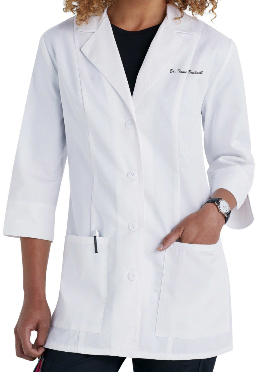 Cherokee 30 Inch 3/4 Sleeve Lab Coats