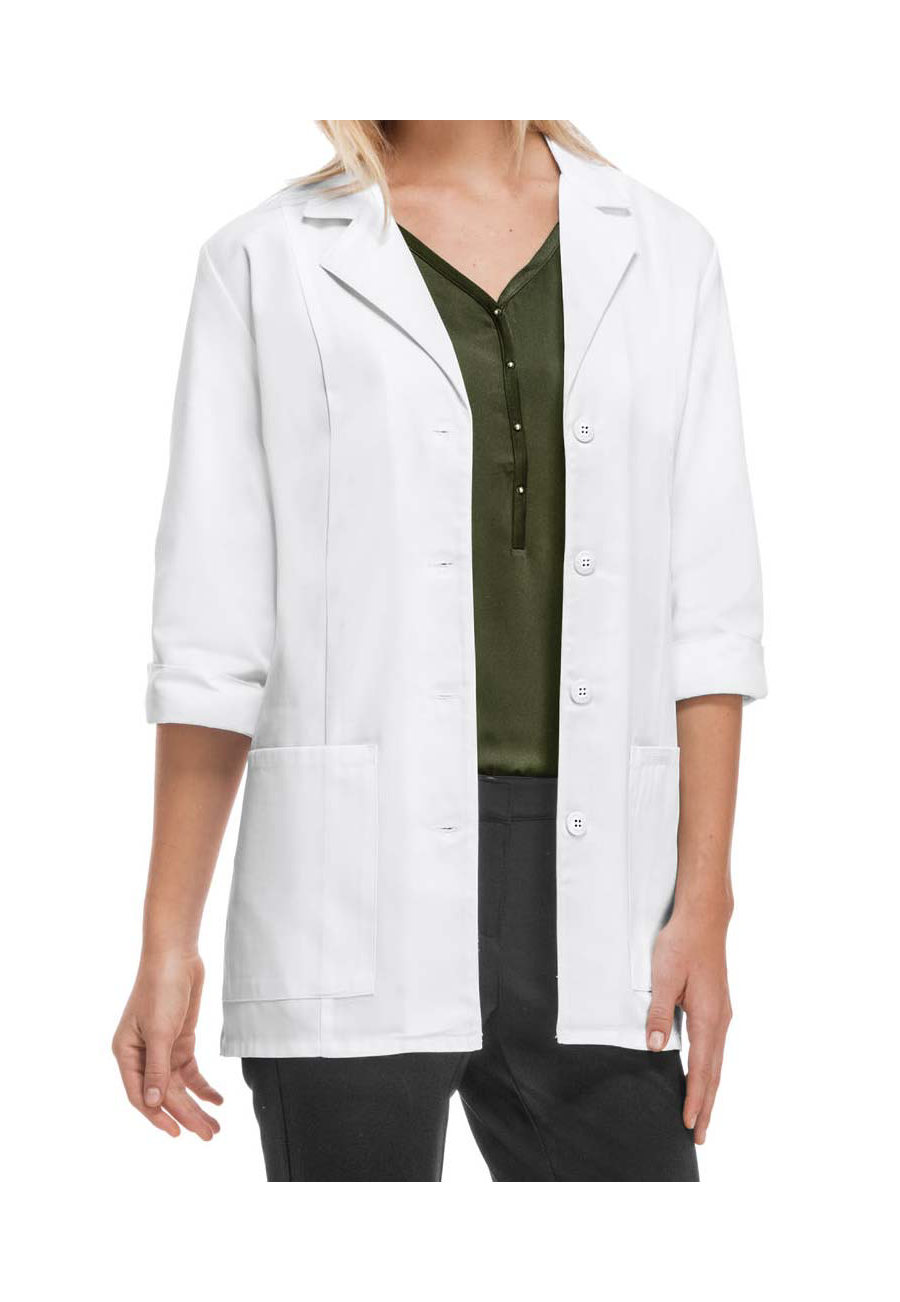 Cherokee 30 Inch 3/4 Sleeve Lab Coats With Certainty