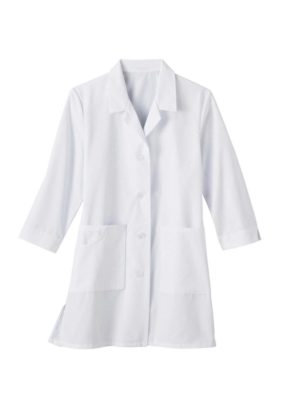 META Women's  33 Inch 3/4 Sleeve Lab Coats