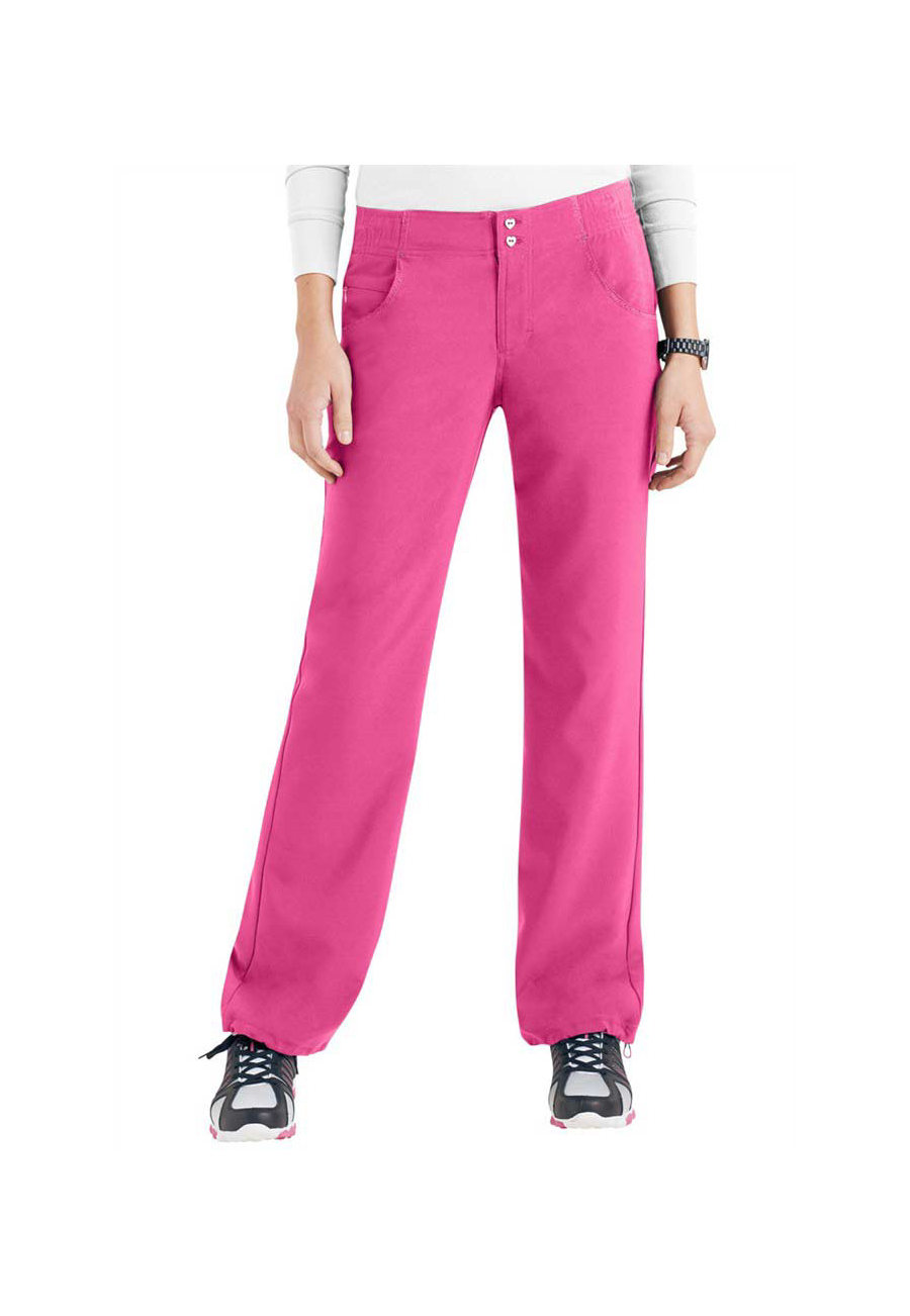 HeartSoul Enchanted Straight Leg Scrub Pants