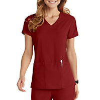 Grey's Anatomy Signature 3 Pocket V-neck Tops