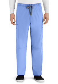 Grey's Anatomy Men's Derek 6 Pocket Cargo Scrub Pants