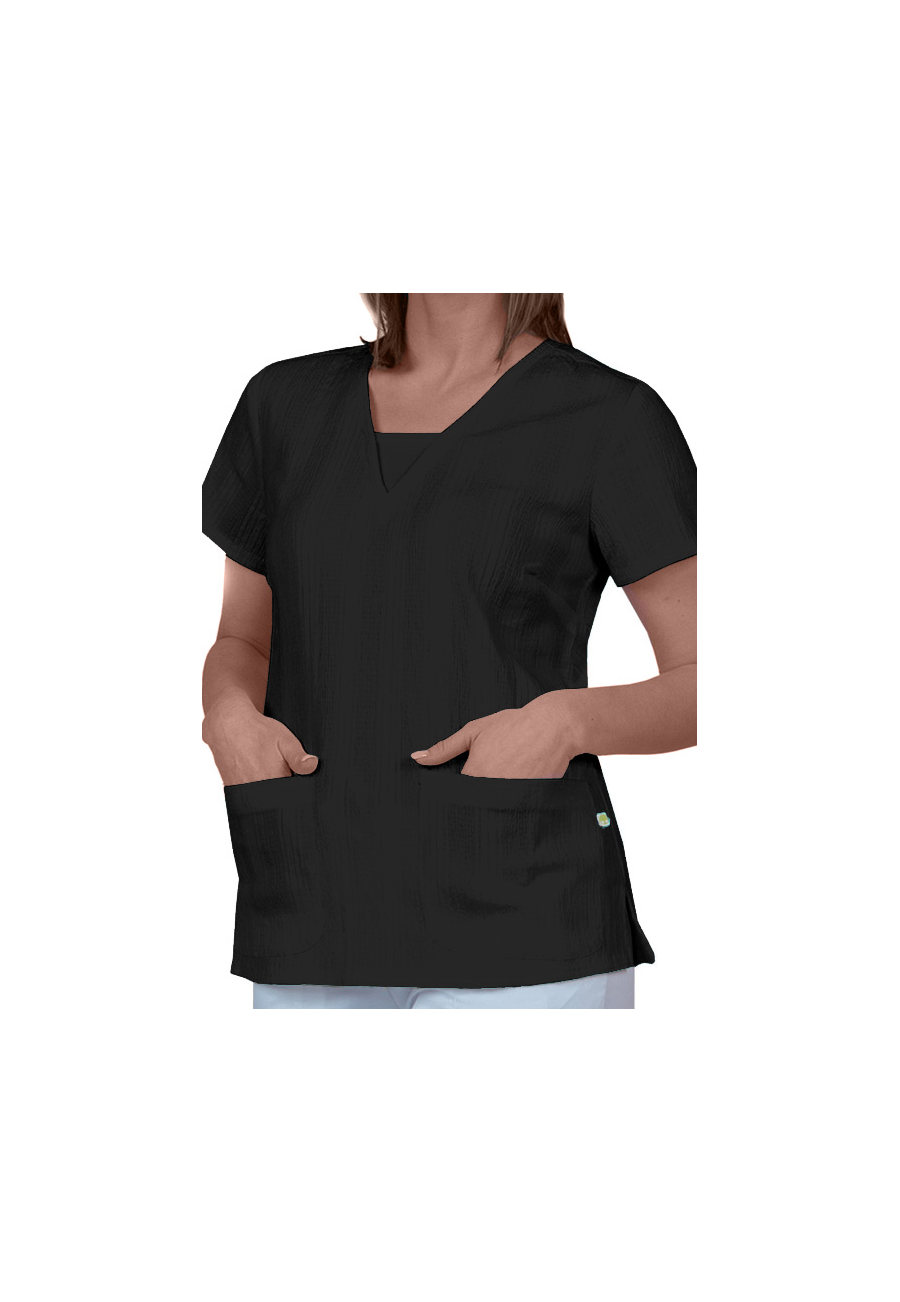 Healing Hands Layla V-neck Inset Scrub Tops