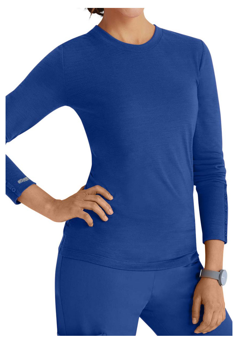 Grey's Anatomy Signature Long Sleeve Crew Neck Tees