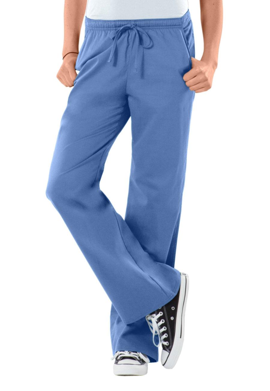 Cherokee Workwear Core Stretch Modern Fit Low-Rise Drawstring Scrub Pants