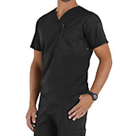 Beyond Scrubs Men's Jack V-neck Tops