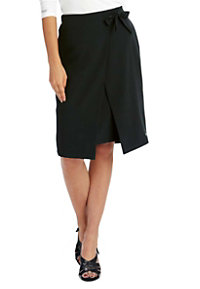 Grey's Anatomy Signature 2 Pocket Faux Wrap Skirts