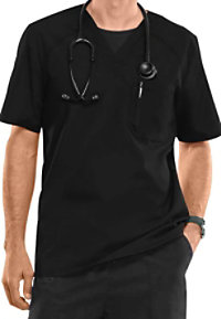Cherokee Flexibles Men's V-neck Scrub Tops