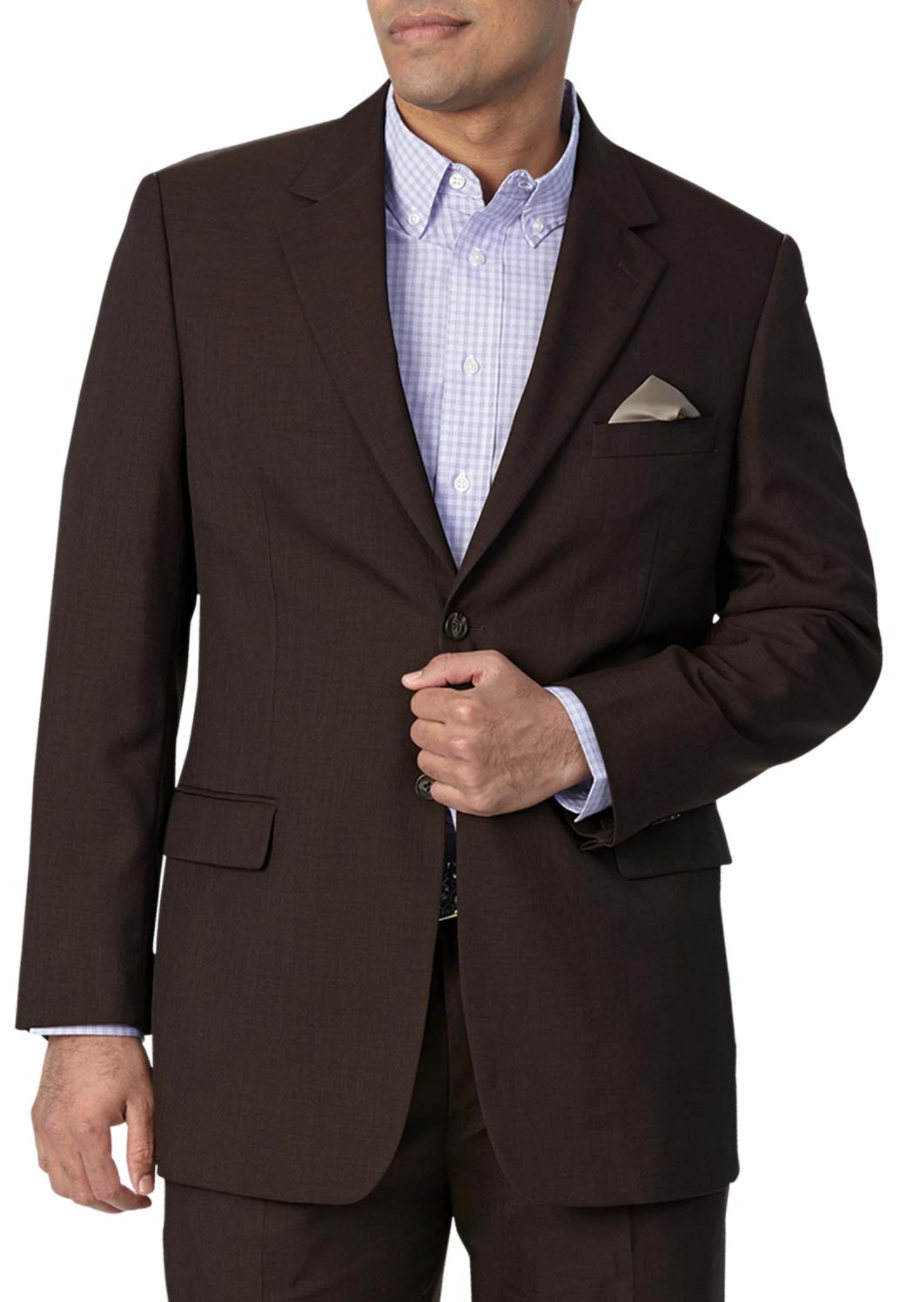 Fashion Seal Men's Blazers - Chocolate - 36