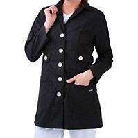 Landau Trench Style Lab Coats