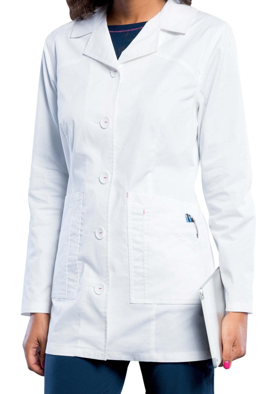 Smitten 32 Inch Lab Coats - White - 2X