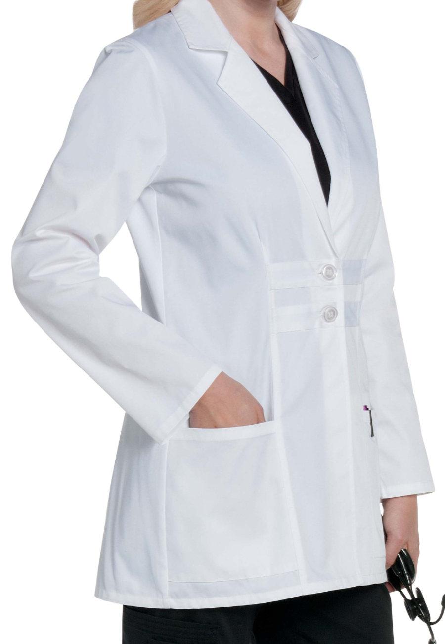 Landau Women's 31 Inch Twill Fashion Antimicrobial Lab Coats