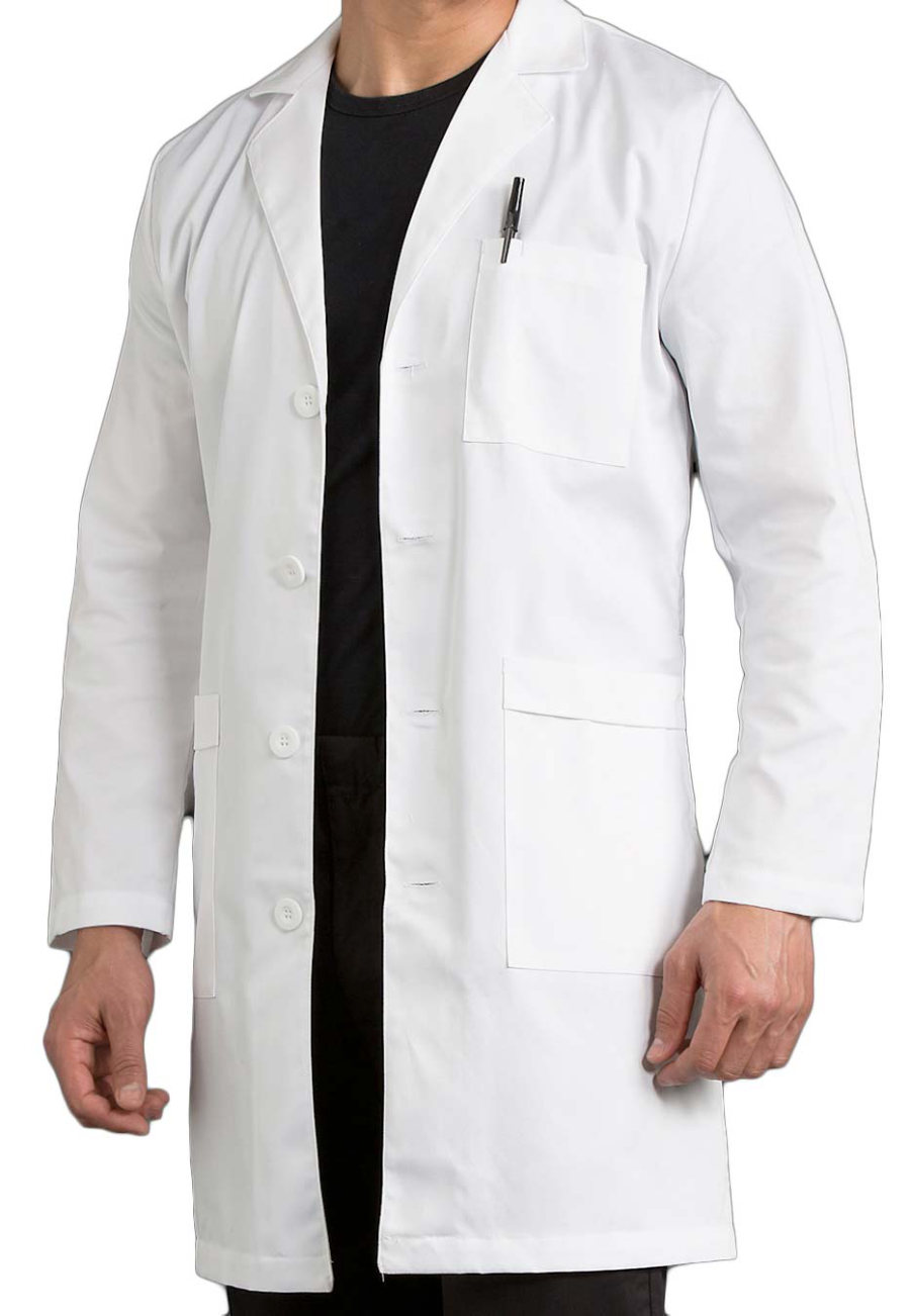 Med Couture MC2 Men's 38 Inch Twill Lab Coats