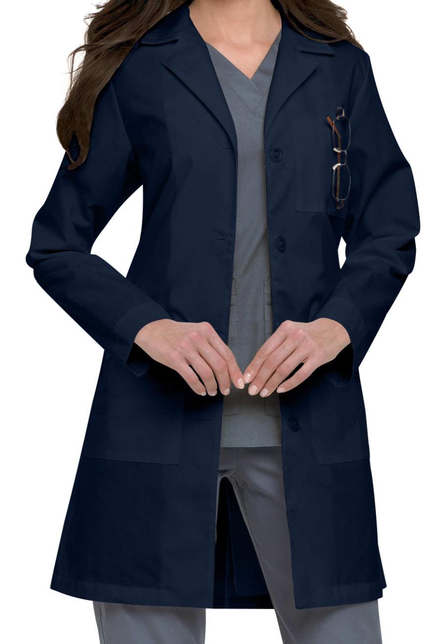 Landau Women's 38 Inch Fitted Back Lab Coats