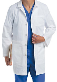 Landau Men's 36.5 Inch With Notebook Pocket Lab Coats