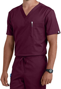Cherokee Workwear Flex Unisex One Pocket Scrub Tops With Certainty