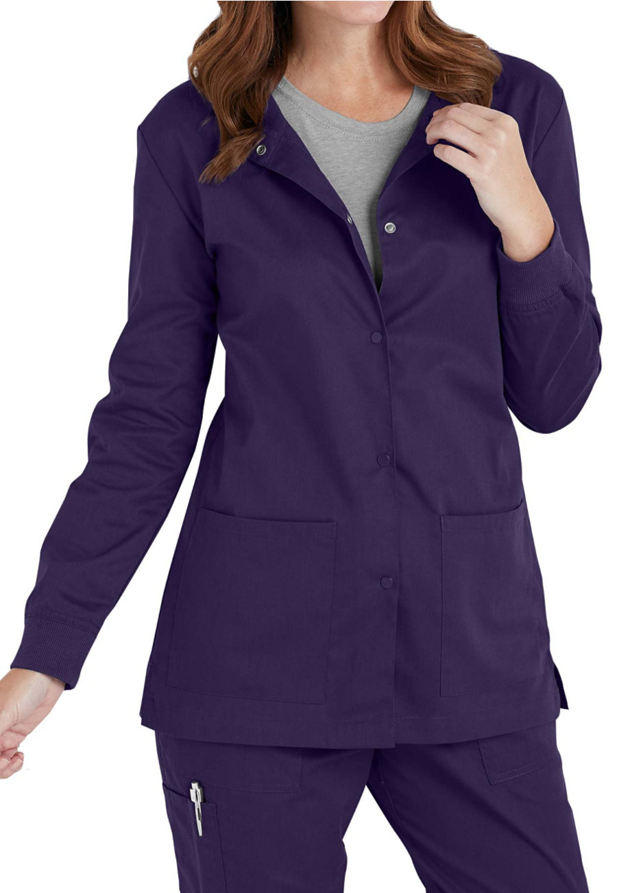 Landau All Day 2-pocket Scrub Jackets