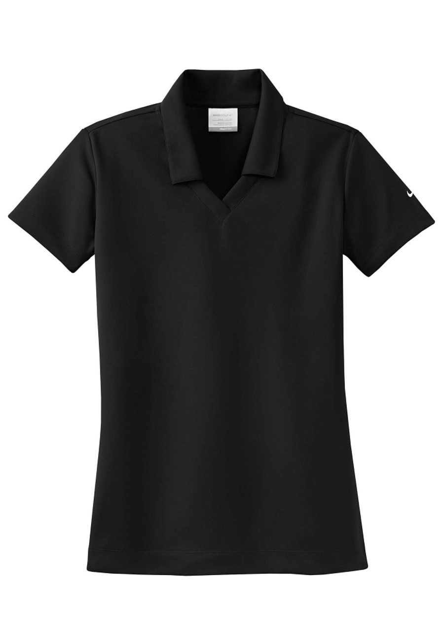 Nike Golf Ladies Dri-fit Micro Pique Polo - Black - 2X 354067