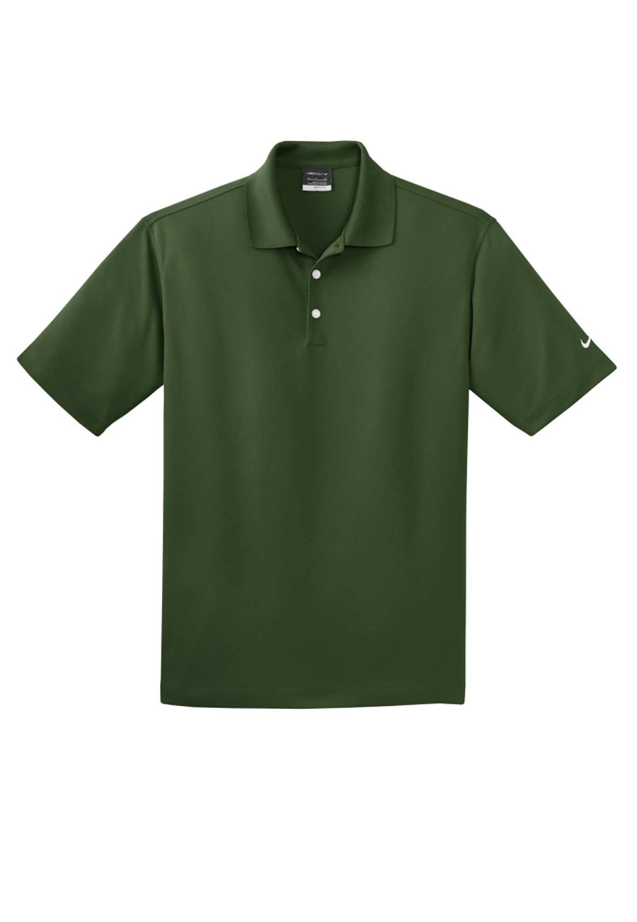 Nike Golf Men's Dri-fit Micro Pique Polos - Team Green - L 363807