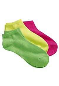 Prestige 3 Pairs Neon Nurse Ankle Socks