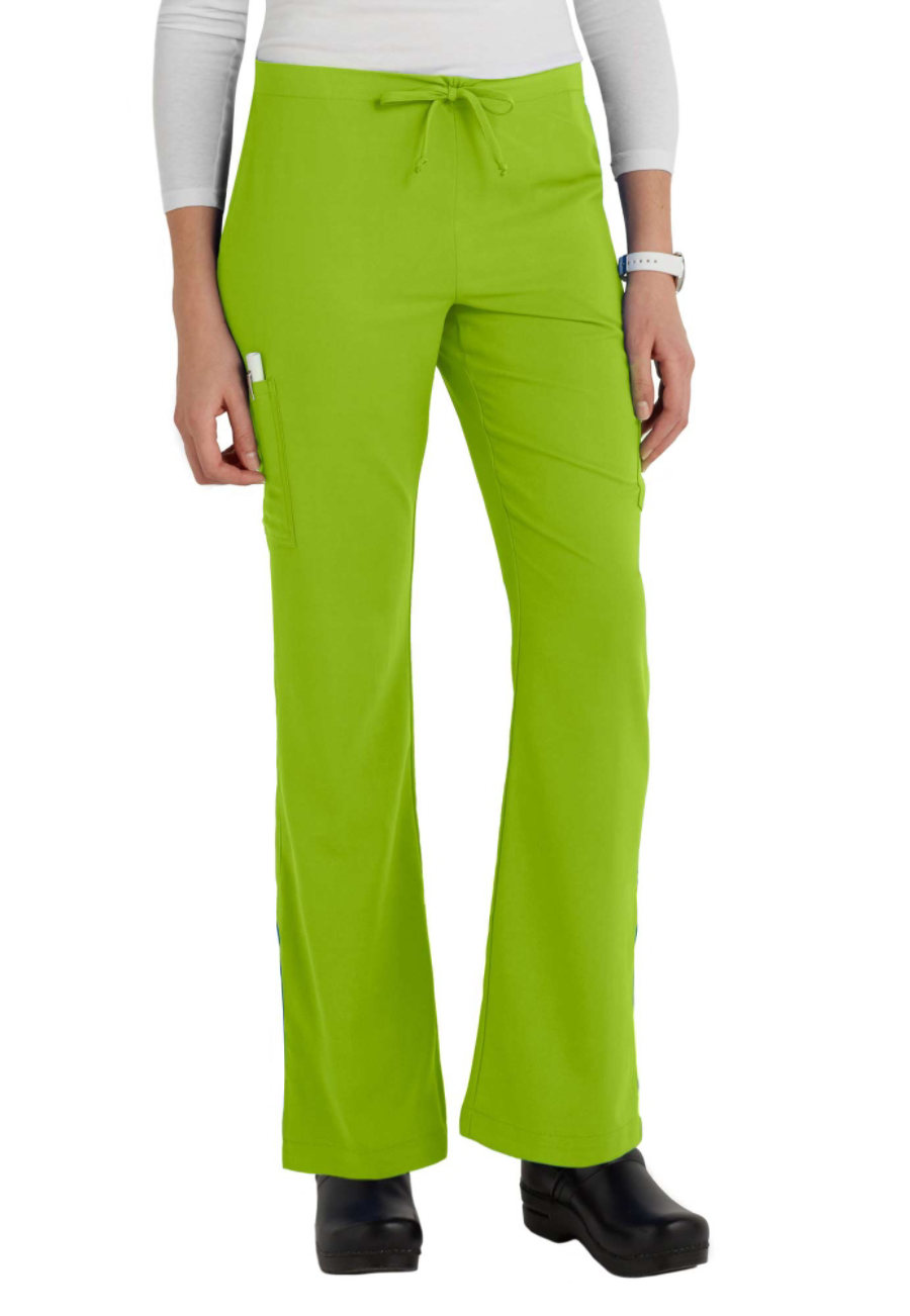 White Cross Oasis Stretch Drawstring Scrub Pants