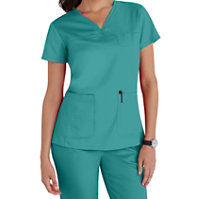 Grey's Anatomy 3 Pocket V-neck Yoke Tops